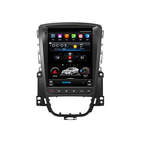 Autoradio Android 10.0 Doppio Din compatibile con Buick Excelle / Opel Astra J 2010-2014 Navigazione GPS Unità principale da 10,4 pollici Touchscreen MP5 Lettore multimediale Ricevitore video radio 4