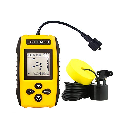 Venterior Handheld Fish Finder, Portable Fishfinder Fish...