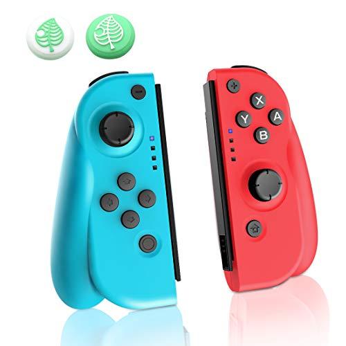 JOYSKY Controller Wireless per Nintendo Switch, Set di 2 Joy con di Ricambio Sinistro Destro Senza...