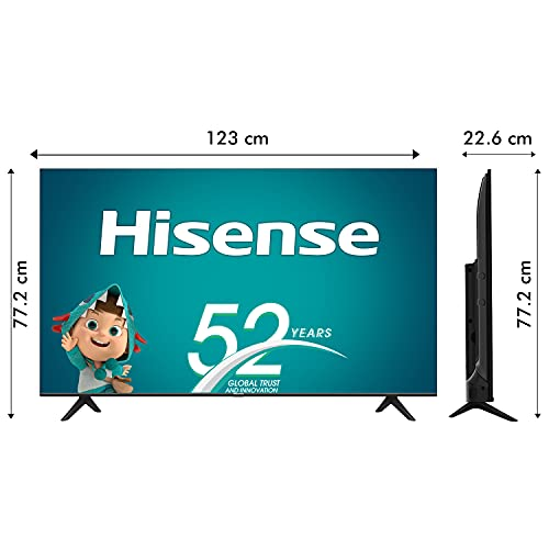 41yG1N8yA8S Hisense 139 cm (55 inches) 4K Extremely HD Sensible Licensed Android LED TV 55A71F (Black) (2020 Mannequin) | With Dolby Imaginative and prescient and ATMOS