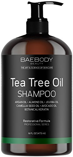 Baebody Tea Tree Oil Men Shampoo