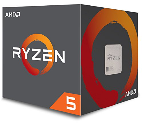AMD Ryzen 5 1600 Processor with Wraith Spire (no LED) Cooler...