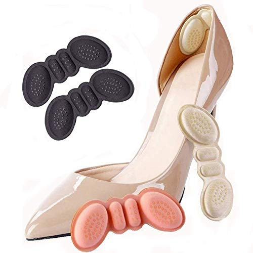 FonsBleaudy Heel Cushion snugs Inserts Shoe Pads for Loose Shoes