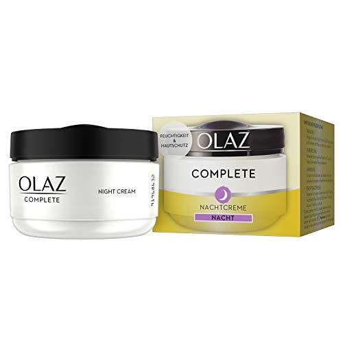 Olaz Complete Nachtcreme für Normale und Trockene Haut, 50ml