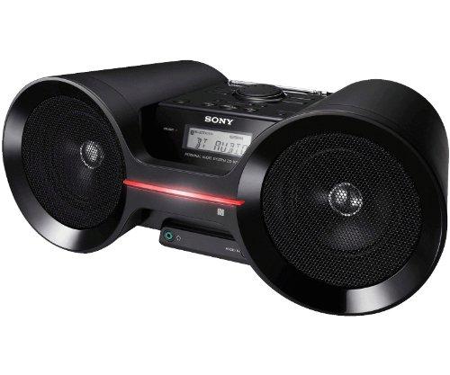 2. Sony ZSBTY50 Portable NFC Bluetooth Wireless Boombox Speaker