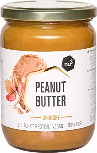 nu3 Crema de cacahuete crujiente - Peanut butter crunchy veg