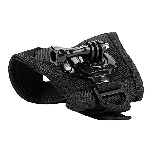 Cinturino da polso Cinturino da polso Innovativo cinturino per fotocamera a guanto che aiuta a registrare la vita colorata, per G-opro Hero 4/3 + / 3/2/1, Sjc-am Sj4000 / Sj5000