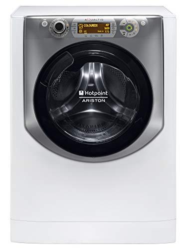 Hotpoint AQD1071D 69 EU/A machine à laver avec sèche linge - machines à laver avec sèche linge (Charge avant, Autonome, Blanc, Droite, A, A)