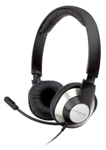 CREATIVE Chatmax HS-720 PC-Headset, Schwarz, Silber, 1