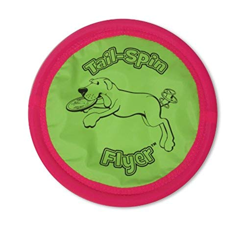 Petmate Booda Tail-Spin Flyer Floating Dog Frisbee...