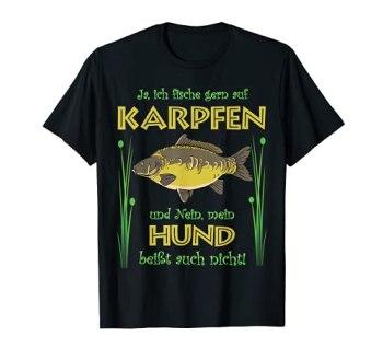 Motif amusant de pêche à la carpe. T-Shirt