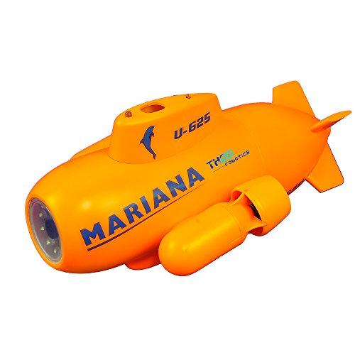 ThorRobotics Underwater Drone di Mariana RC Mini UAV Underone con FPV e 2.4G RC 5.8G HD Image Transmission,