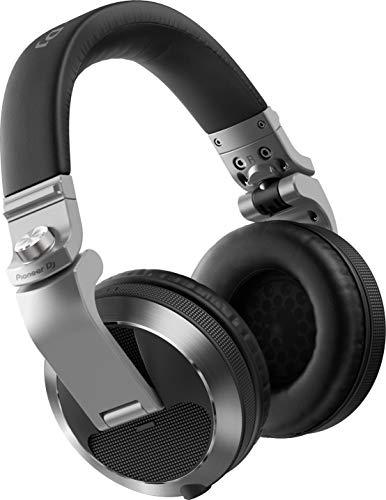 Pioneer DJ HDJ-X7-S Nuove Cuffie Over-Ear Professionali, Durata Superiore e Funzionalit Migliorate per Dj Professionisti, Grigio Argento