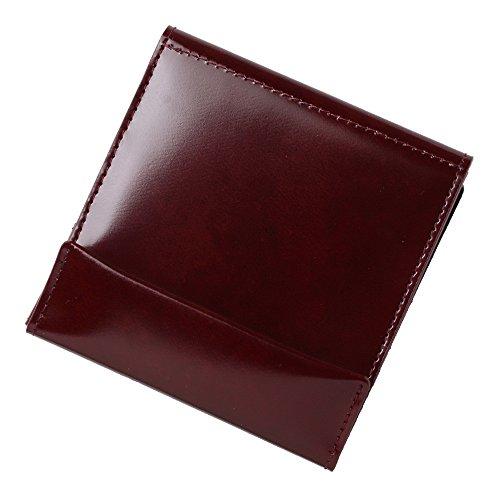 薄い財布 abrAsus (アブラサス) classic ボルドー