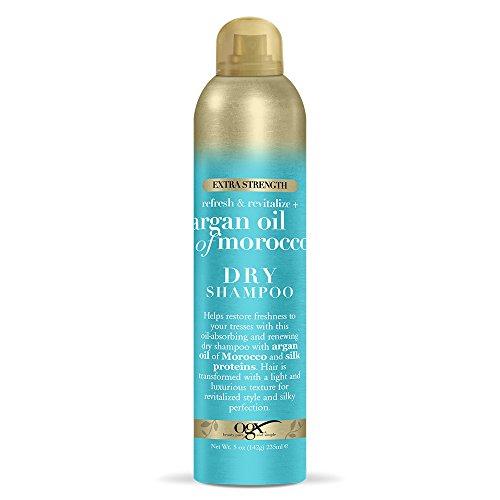 OGX Refresh Revitalize Extra Strength Argan Oil of Morocco Dry Shampoo, 5 Ounce