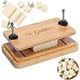 LaGoldoo Bamboo Tofu Press, Tofu Presser with Wooden Tofu Strainer and Attachable Drip Tray, Transform Firm or Extra Firm Tofu, Remove Water from Food for Better Taste.