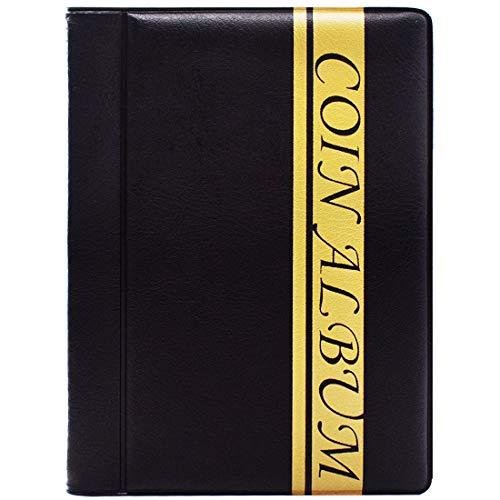 ZSWQ Album de Collection de pièces de Monnaie Album numismatique,Rangement...