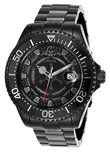 Invicta 26161 Star Wars Herren Uhr Edelstahl Automatik schwarzen Zifferblat