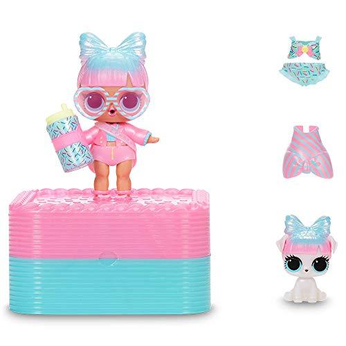 Image 3 - L.O.L. Surprise, Deluxe Present Surprise - coffret avec cadeau effervescent, 1 Poupée 8 cm et 1 Pets 6 cm édition limitée, accessoires, Modèles aléatoires , jouet pour enfants dès 3 ans, LLUD7