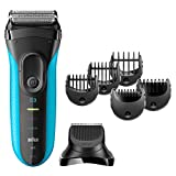 Braun Series 3 3040 Rechargeable Wet and Dry Electric Foil Shaver (Multi)