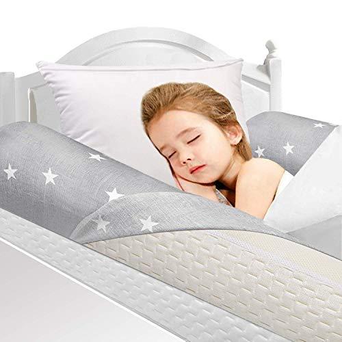 2 Pcs Barrière de lit Daisies en mousse pour bambins et enfants Pare-chocs...