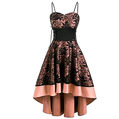 【Material】Polyester, made of high quality materials, soft and comfortable to wear. 【Design】Fashion womens dresses are designed with pretty print can perfectly show your beautiful. 【Feature】Summer floral printed casual mini dresses short sundresses fe...