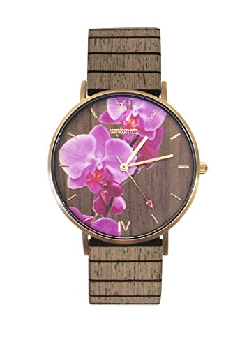 WEWOOD Damen Analog Quarz Uhr mit Holz Armband WW48001