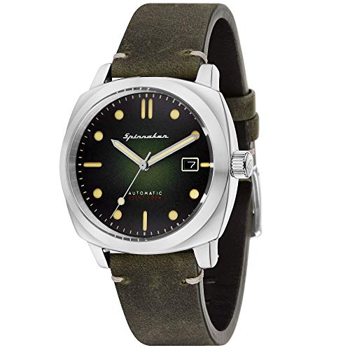 Spinnaker Herren Automatik Armbanduhr mit Lederband - Hull SP-5059-03