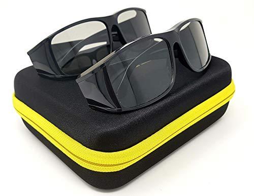 2x Hi-SHOCK passive 3D-Brille Sierra für 4K 3D TV & 3D...