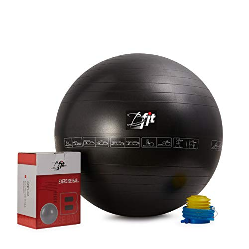 Bfit USA Anti Burst Gym Ball 65cm With Pump