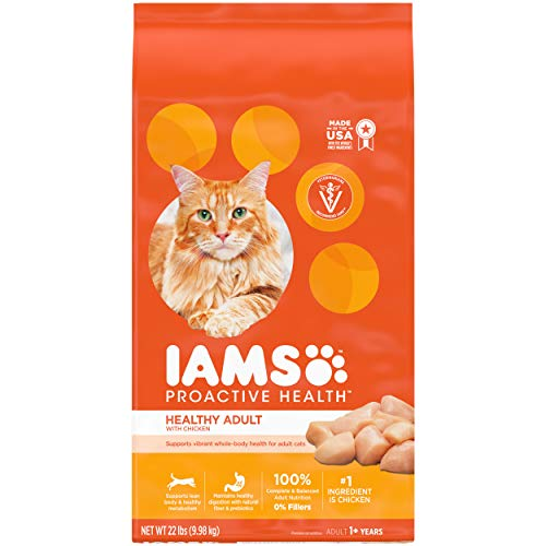 IAMS-PROACTIVE-HEALTH-Adult-Healthy-Dry-Cat-Food-with-Chicken-22-lb-Bag