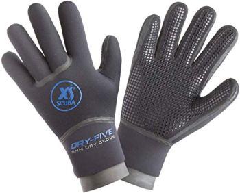 XS Scuba Dry Five Pyrostretch 5mm Gloves - X-Large