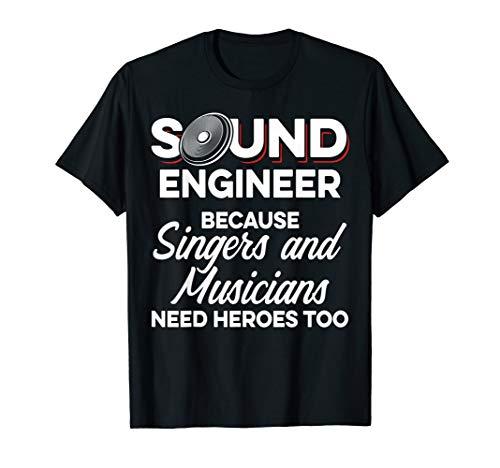 Studio Audio Engineer Musician Sound Guy Tech T-Shirt