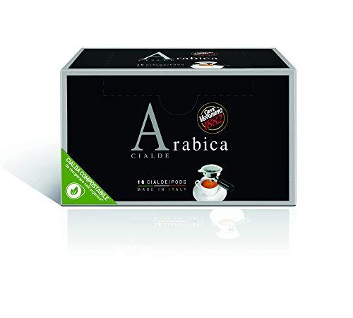 Caffè Vergnano 1882 Cialde Caffè Arabica - 6 confezioni da 18 cialde, filtro in carta (totale 108)
