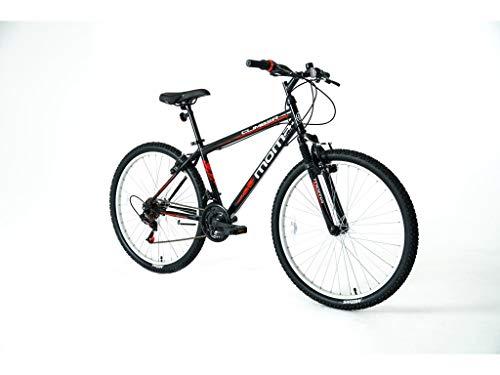 Moma Bikes Bicicleta Montaña MTB26 CLIMBER, 21vel, frenos V-Brake,...