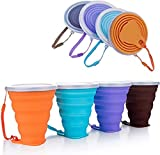 Hokone Silicone Collapsible Travel Cup,...