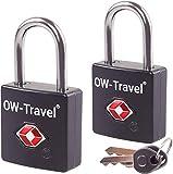 OW-Travel Cadenas Clé TSA Cadenas Aeroport ANTIVOL TITAN pour cadenas...