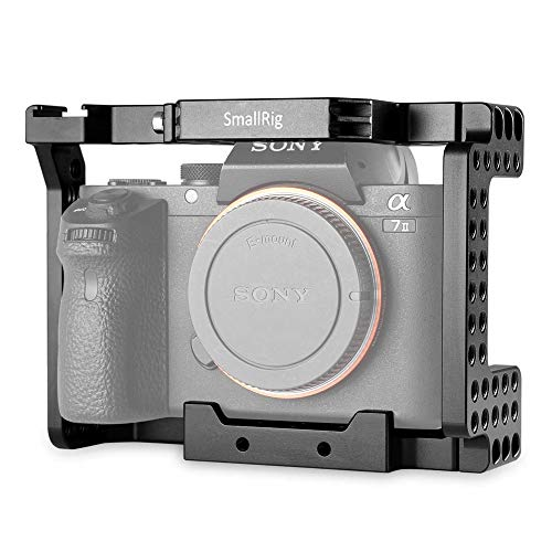 SMALLRIG A7II/A7RII/A7SII ILCE-7M2/ILCE-7RM2/ILCE-7SM2専用ケージ 拡張カメラケージ 軽量 取付便利 耐久性 DSLR 装備- 1660 [並行輸入品]
