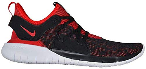 Nike Men's Flex Contact 3 Blk/Red/Wht Running Shoes-8 UK (AQ7484-002)