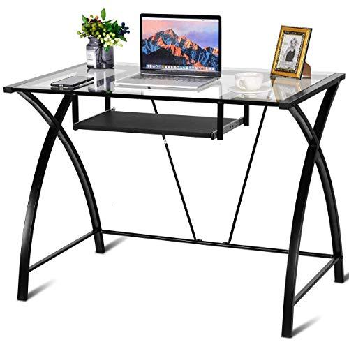 Tangkula Computer Desk Sturdy Modern Contemporary Desk...
