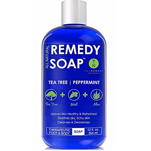 Remedy Soap Tea Tree Oil Body Wash, Helps Body Odor,...