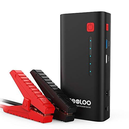 GOOLOO 1200A Peak 18000mAh SuperSafe Car Jump Starter with USB Quick...