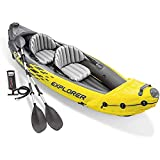 YKHOME Canoë Kayak Gonflable,Kayak Gonflable Adventure, 2 Places + pagaie +...