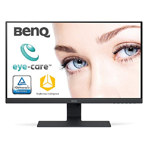 BenQ GW2780 68,58 cm (27 Zoll) LED Monitor (Full-HD, Eye-Care, IPS-Panel Technologie, HDMI, DP, Lautsprecher) schwarz