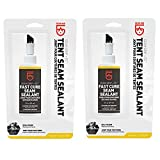 Gear Aid Seam Grip FC Fast Cure Sealant for Tents, Clear, 2 fl oz - 2 Pack