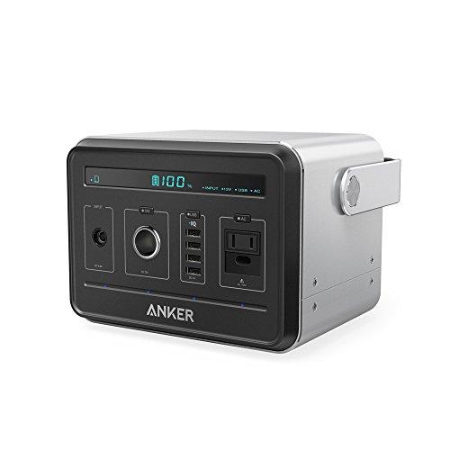 Anker PowerHouse (ポータブル電源 434Wh / 120,600mAh) 【PSE認証済 / 静音インバーター / 正弦波 / USB &...
