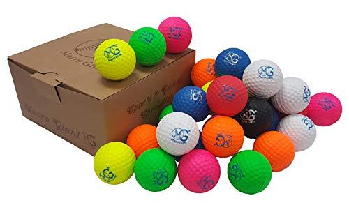 Product Image 4: Macro Giant 1.7 Inch Foam Golf Ball, Set of 32, 8 Colors, Indoor Outdoor, Beginner, Training Practice