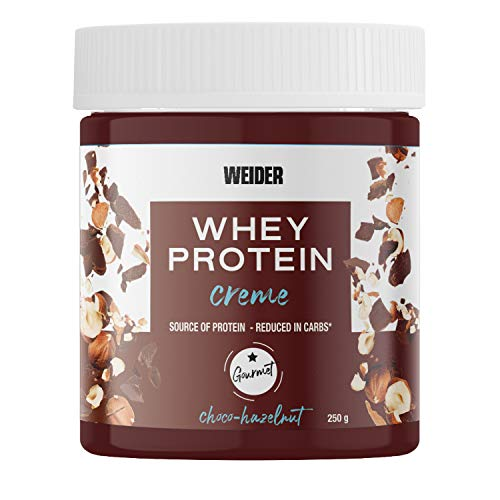 Weider Whey Protein Spread 250 g. Crema de avellana con 22%