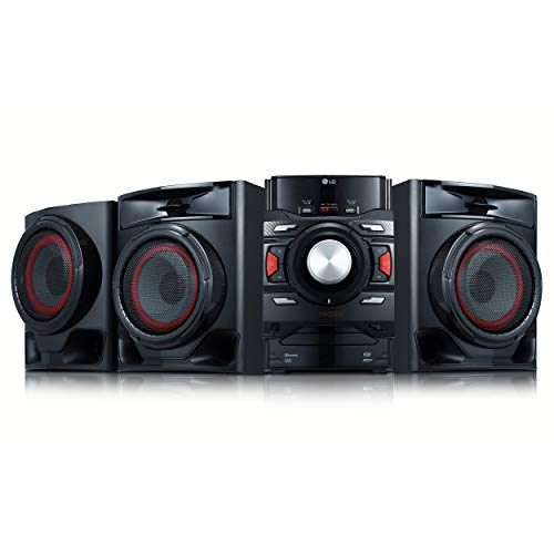 LG CM4590 XBOOM XBOOM Bluetooth Audio System with 700 Watts Total Power,Black