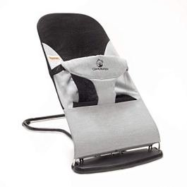 Ergonomic Baby Bouncer Seat – Bonus Travel Carry Case Included – Safe, Portable Rocker Chair with Adjustable Height Positions – Infant Sleeper Bouncy Seat Perfect for Newborn Babies by ComfyBumpy